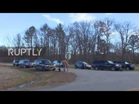 USA: Russian diplomats leave Maryland compound following new US sanctions