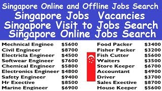 Singapore Online and Offline Jobs Search l Job Search Online Singapore l Singapore Jobs  Vacancies