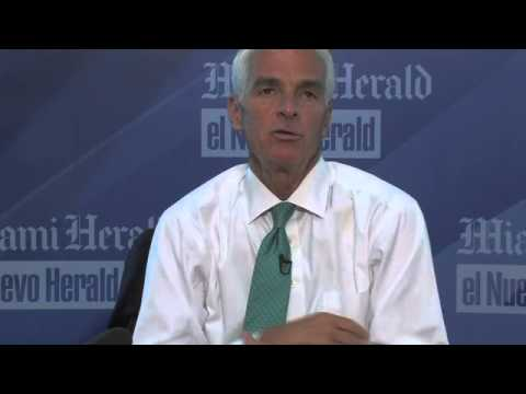 Charlie Crist's interview with the Miami Herald editorial board (Part Two)