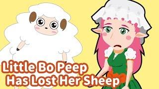Little Bo Peep Has Lost Her Sheep | Children Nursery Rhyme | Kids Songs | Baby Puff Puff