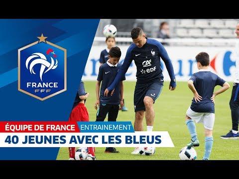 Equipe de France, entraînement: ils se sont entraînés avec l'Equipe de France ! I FFF 2016