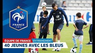 Ils se sont entraînés avec l'Equipe de France !