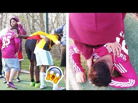 Ich HEULE wegen A**-Schießen - EXTREM lustige Fussball Challenge feat. SKK | ALI