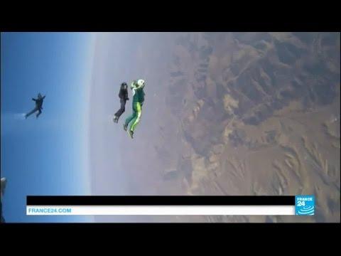 Chute libre de 7,5 km sans parachute : l'Américain Luke Aikins réussit son pari fou !