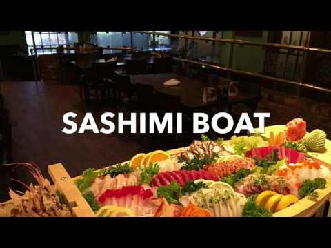 shogun sashimi boat!!