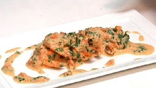 Garlic Prawns With Brandy Cream Sauce : Cooking Fresh With Seafood