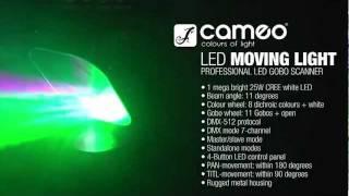 Cameo Moving Light - LED Gobo Scanner Lighting