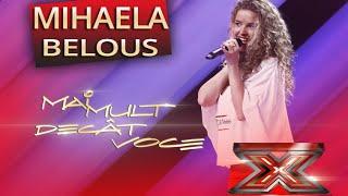 """Mihaela Belous - Christina Aguilera - """"Nasty naughty boy"""" - X Factor"""