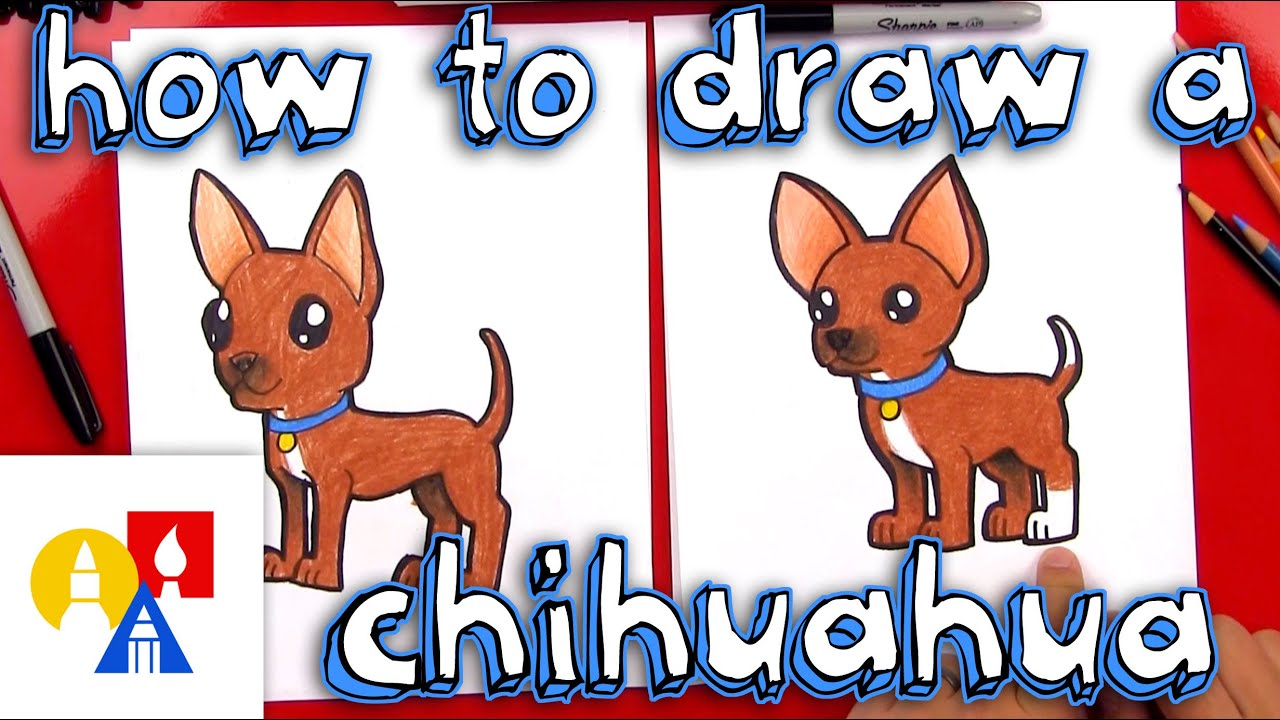 how to draw a chihuahua youtube