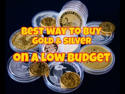 Best Way To Buy Gold & Silver On A Low Budget