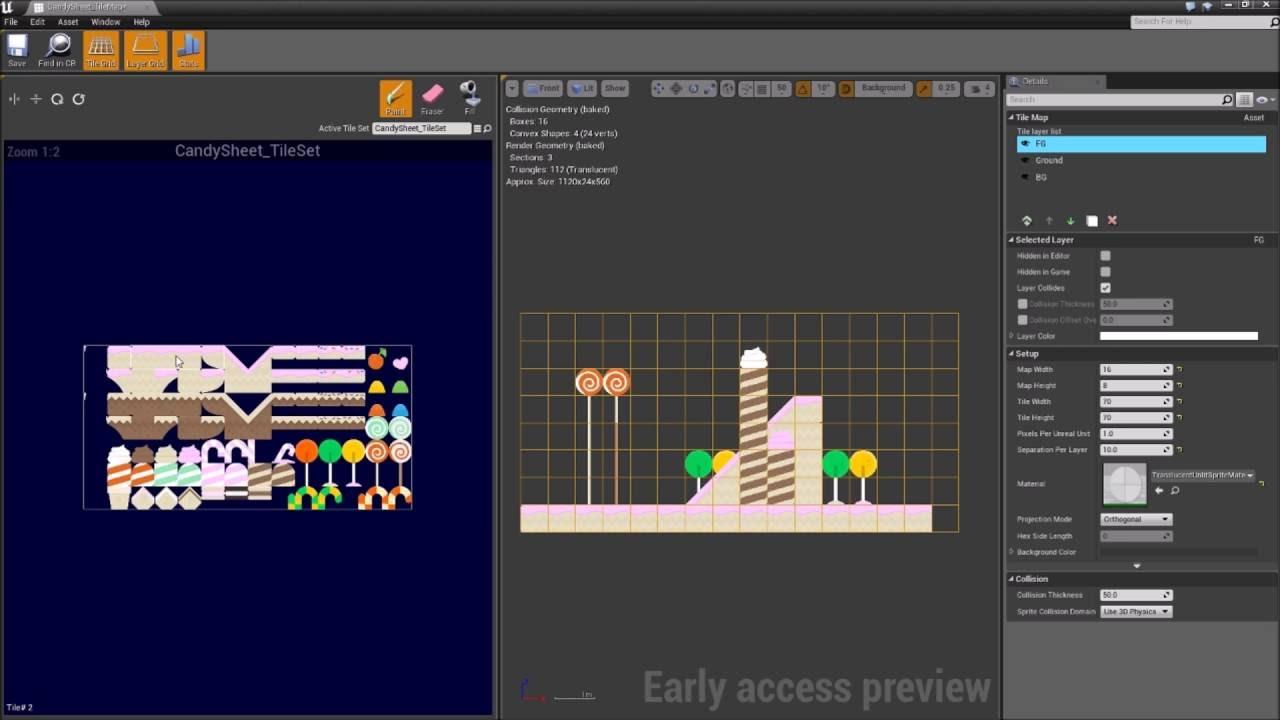 Paper 2D #1 - Tilemaps - Unreal Engine 4