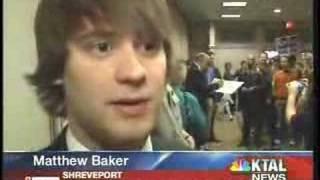 Television Coverage Ron Paul, Shreveport, Louisiana