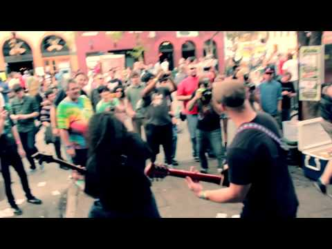 Death By Stereo Live on 6th st. SXSW 2012