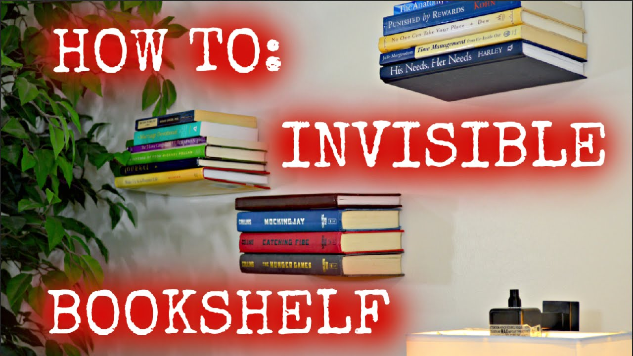 invisible bookshelf tutorial hd
