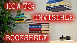 Invisible Bookshelf Tutorial (HD)