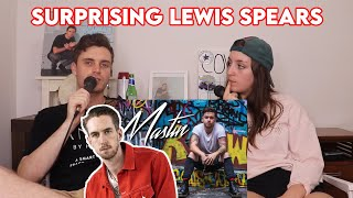 Surprising Lewis Spears with Reece Mastin! - Luke Kidgell