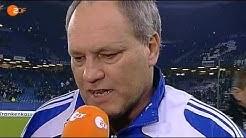 HSV - Ajax (0-1) Martin Jol Interview & Leonardo Goal (HQ)