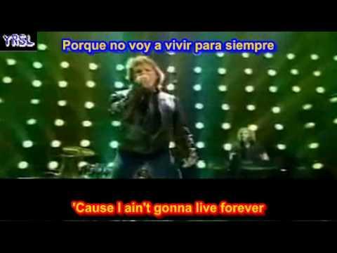 Its My Life Bon Jovi Subtitulada Ingles Español Youtube