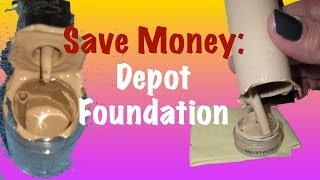 Save Money - How to Depot Foundation Bottles Thumbnail