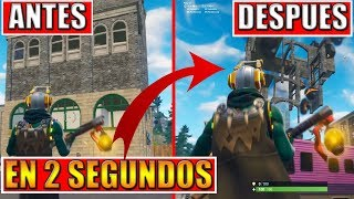 NEW *TIP* DESTRUCT BUILDINGS in 2 SECONDS of FORTNITE BATTLE ROYALE GLITCH *WORKS* 100% !!