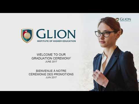 Glion Graduation June 2017