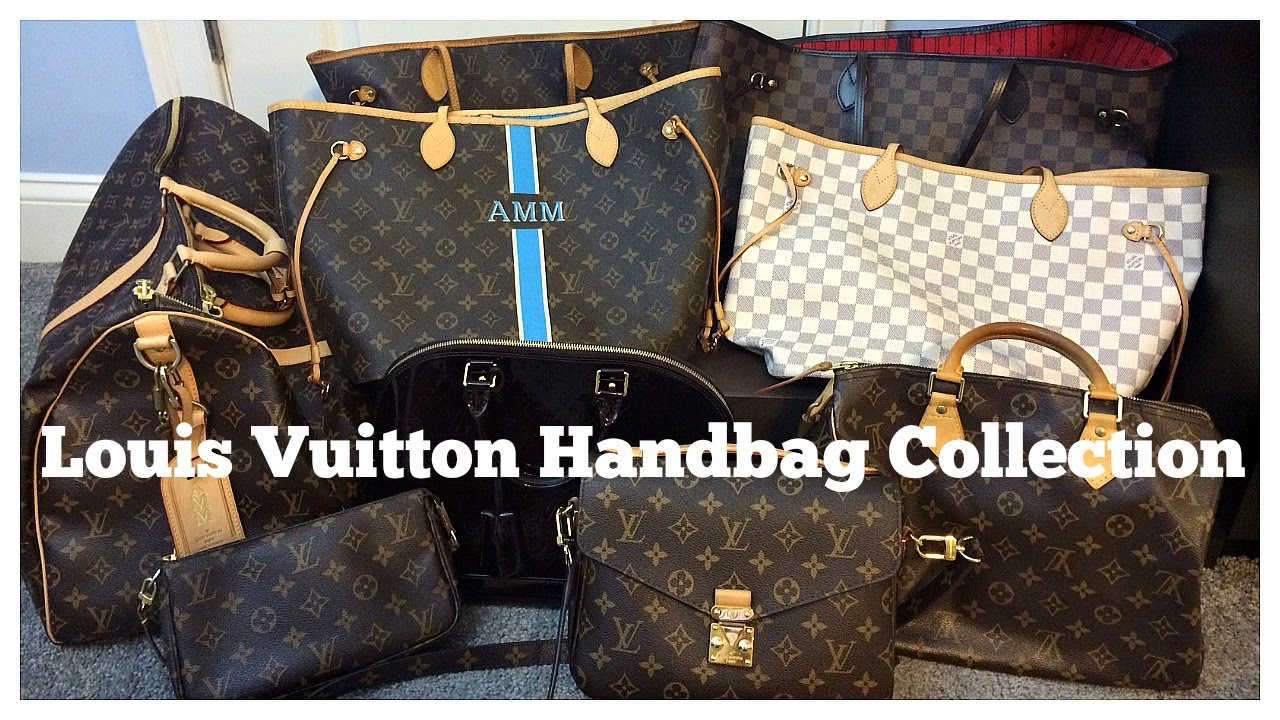 06039915175d My Louis Vuitton Handbag Collection and Reviews - YouTube