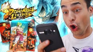 PRIME SUMMON E COMBATTIMENTI ASSURDI! Meglio di Dokkan Battle? | Gameplay Dragon Ball Legends Ita