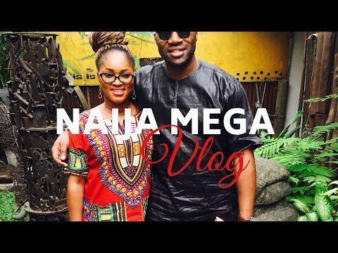 NIGERIA TRIP MEGA VLOG - Lagos vibes, Village life, Epic Wedding