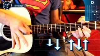 """Cómo tocar """"Baby Please"""" de Allison en Guitarra Acústica (HD) Tutorial - Christianvib"""