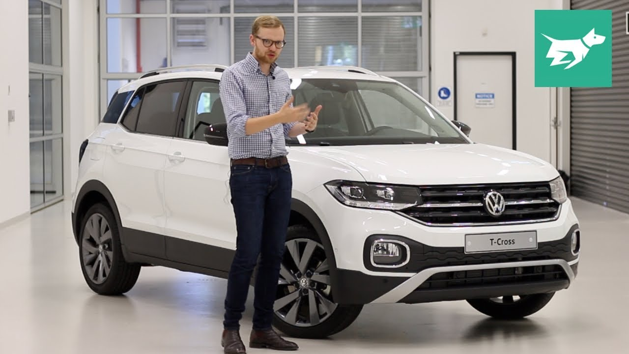 Volkswagen T-Cross SUV 2019 review walkaround