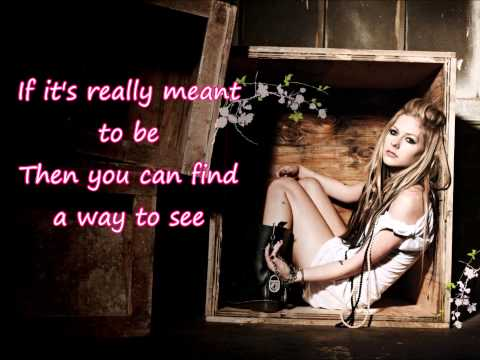 Avril Lavigne - Push (Lyrics)