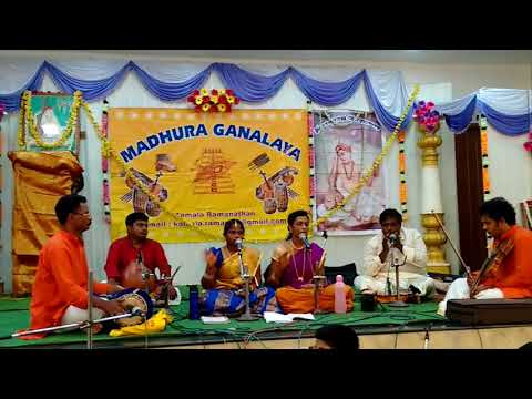 Excelent carnatic vocal performance by young talented Ms.sanjana a spirtual journey