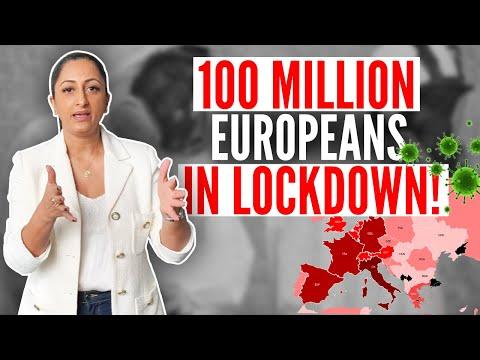 100 million Europeans in lockdown!