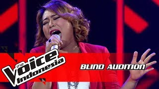 Adel - Alone | Blind Auditions | The Voice Indonesia GTV 2018