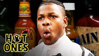 Download John Boyega Summons the Force While Eating Spicy Wings | Hot Ones Mp3 and Videos