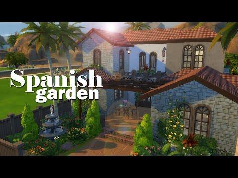 The Sims 4 | Speed Build: Spanish Garden 🌿🌴