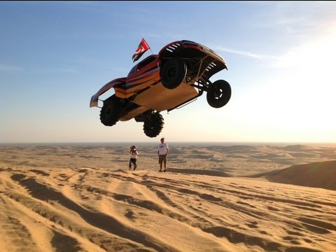Tatum Motor Sports Truck in Glamis Sand Dunes [HD]