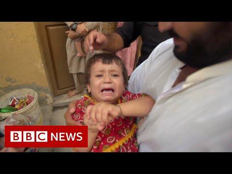 Fighting polio and conspiracies - BBC News