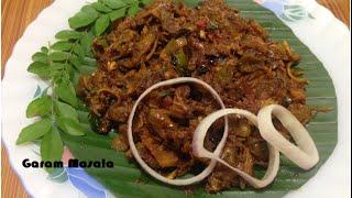 Kallummakkaya roast / Kadukka roast / Mussels Roast Kerala Style