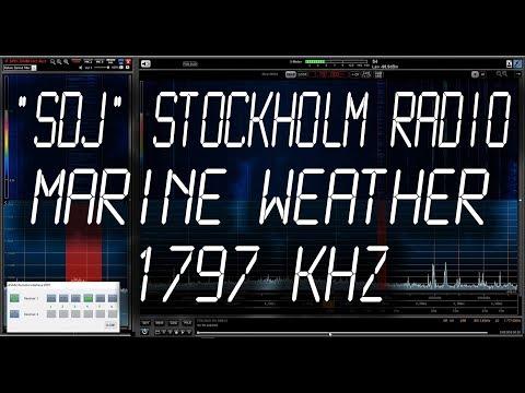 MSI Sweden - Weather Marine Forecast - 1797 kHz