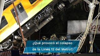 La empresa DNV entregó este miércoles 16 de junio a la jefa de Gobierno, Claudia Sheinbaum, los resultados de la primera etapa del peritaje sobre las causas del colapso en la estación Olivos de la Línea 12 del Metro capitalino