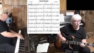 Easter Parade - Jazz guitar & piano cover ( Irving Berlin )