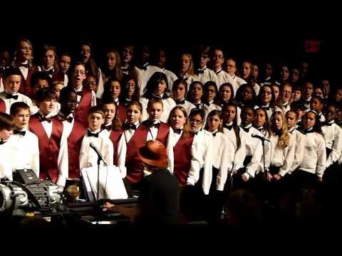 Pottsgrove Middle School Concert Choir (Dec. 11, 2014)