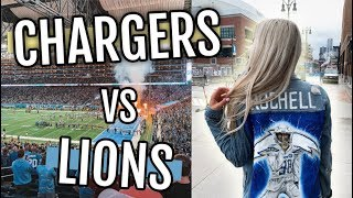 Chargers in DETROIT!! | Chargers vs Lions | Game Day Vlog