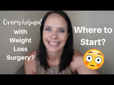 OVERWHELMED WITH WEIGHT LOSS SURGERY? �� RESOURCES AND TIPS TO GETTING STARTED ��