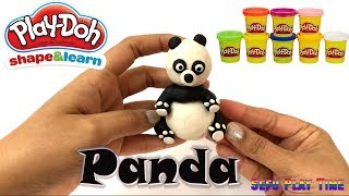 Kung Fu Panda with Play-Doh. Learn Kids Fun Activity