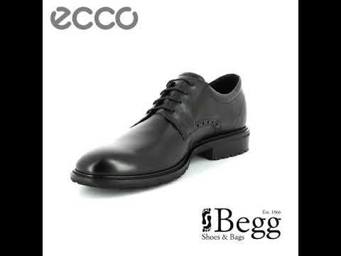 ECCO Vitrus I 640304-01001 Black formal shoes