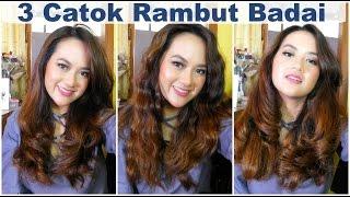 3 TUTORIAL CARA CATOK RAMBUT BADAI ALA INDONESIA (ft. NewChic) | How I Style My Hair | Tips Curly
