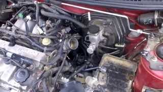 how to video remove egr valve off of a mazda protege5