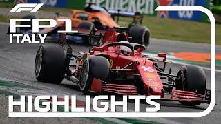 FP1 Highlights   2021 Italian Grand Prix